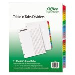office-essentials-table-n-tabs-dividers-1-31-letter-1-set-ave11681
