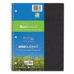Roaring Spring Environotes Notebook, 70 Sheets, College, Assorted (ROA13361)