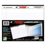 landscape-format-writing-pad-college-ruled-11-x-9-1-2-white-roa74500