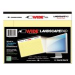roaring-spring-wide-landscape-format-writing-pad-canary-40-sheets-roa74601