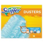 "Swiffer Light Blue Dusters Refill, Dust Lock Fiber, 2""x6"", 72 Refills (PGC99036)"