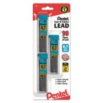 pentel-super-hi-polymer-lead-refills-07mm-hb-black-90-leads-penc27bphb3k6