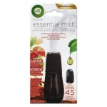 Air Wick Essential Mist Refill, Cinnamon/Apple, 0.67 oz, 6 Refills (RAC98553)