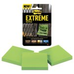 post-it-3-x-3-water-resistant-self-stick-green-notes-3-pack-mmmxtrm333trygn