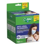 curad-antiviral-medical-face-masks-pleated-10-masks-miicur384s