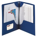 Smead Lockit Two-Pocket Folder, Leatherette, 11 x 8-1/2, 25 Folders (SMD87982)