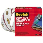 "Scotch Book Repair Tape, 1-1/2"" x 15 yards, 3"" Core (MMM845112)"