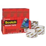 "Scotch Book Repair Tape 8-Roll Multi-Pack, 15-yard Rolls, 3"" Core (MMM845VP)"