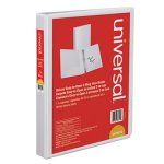 universal-d-ring-view-binder-1-capacity-8-1-2-x-11-white-unv30712