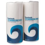 Boardwalk Green Household Kitchen Roll Towels, 2-Ply, White, 30 Rolls (BWK6277)