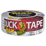"Duck MAX Duct Tape, 1.88"" x 35 yds, 3"" Core, White (DUC240866)"