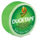"Duck Ducklings DuckTape, 9 mil, 3/4"" x 180"", Lime (DUC282319)"