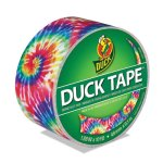 "Duck Colored Duct Tape, 1.88"" x 10 yds, 3"" Core, Love Tie Dye (DUC283268)"