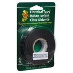 "Duck Pro Electrical Tape, 3/4"" x 66 ft, 1"" Core, Black (DUC551117)"