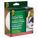 "Duck Carpet Tape, 1.88"" x 75 ft, 3"" Core, Double-Sided, 1 Each (DUC442062)"