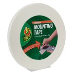 "Duck Permanent Foam Mounting Tape, 3/4"" x 36yds. (DUC1289275)"