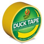 "Duck Colored Duct Tape, 1.88"" x 20 yds, 3"" Core, Yellow (DUC1304966RL)"