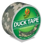 "Duck Colored Duct Tape, 1.88"" x 10 yds, 3"" Core, Digital Camo (DUC1388825)"