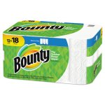 Bounty Select-a-Size Paper Towels, 2-Ply, White, 5.9 x 11, 83 Sheets/Roll, 12 Rolls/CT (PGC65538)