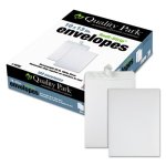 Quality Park Redi Strip Catalog Envelope, 10 x 13, White, 100/Box (QUA44782)
