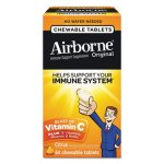 Airborne Immune Support Chewable Tablets, Citrus, 64 Count (ABN18631)