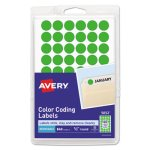 avery-removable-color-coding-labels-1-2-dia-neon-green-840-labels-ave05052
