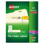 self-adhesive-laser-file-folder-labels-yellow-border-1500-per-box-ave5966