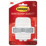 Command Broom Gripper, White/Gray, 1 Gripper & 2 Strips (MMM17007ES)