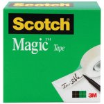 "Scotch Magic Tape, 1/2"" x 1296"", 1"" Core, Clear (MMM810121296)"