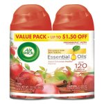 Air Wick Freshmatic Refill, Apple Cinnamon, 6.17 oz Aerosol, 2 Cans (RAC82680PK)