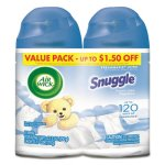 Air Wick Freshmatic Refill, Snuggle Fresh Linen, 6.17-oz, 6 Cans (RAC93045)