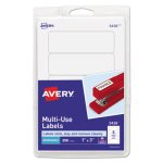 Avery Print or Write Removable Multi-Use Labels, 1 x 3, 250 Labels (AVE05436)
