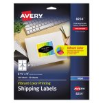 Avery Inkjet Labels for Color Printing, 3-1/3 x 4, White, 120/Pack (AVE8254)