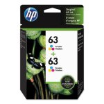 hp-63-1vv67an-2-pack-tri-color-original-ink-cartridge-hew1vv67an