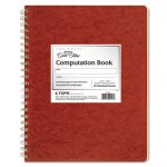 Ampad Graph Ruled Computation Book, Red/Ivory, 76 Sheets, Each (TOP22157)