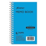 ampad-wirebound-pocket-memo-book-narrow-rule-5-x-3-50-sheets-pad-top25095