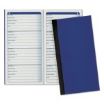 Adams Pocket Size Password Journal, 192 Entries, Blue (ABFAPJ99)