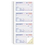 Business Forms Rent Receipt Book, 2-Part Carbonless, 200 Forms (ABFSC1152)