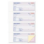 "Adams Receipt Book, 7 5/8"" x 11"", 3-Part Carbonless, 100 Forms (ABFTC1182)"