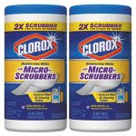 clorox-disinfecting-wipes-with-micro-scrubbers-12-canisters-clo31457ct