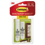 Command Picture Hanging Strips, Removable, 16 lb Max, WH, 24 Strips (MMM17209ES)