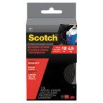 "Scotch Extreme Fasteners, 1"" x 4 ft, Black, 1 Each (MMMRF6741)"