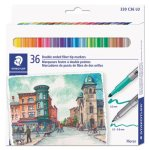 staedtler-double-ended-markers-bullet-tip-assorted-36-pack-std320c36lu