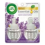 Air Wick Scented Oil Refill, Lavender & Chamomile, 2- .67 oz Pack (RAC78473)