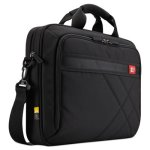 "Case Logic Diamond 15.6"" Briefcase, 16.1"" x 3.1"" x 11.4"", Black (CLG3201433)"