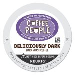 Coffee People Deliciously Dark K-Cup, 24/BX (GMT7608)