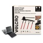 "Velcro Industrial Hook & Loop Fasteners, 2"" x 49' Roll, Black (VEK30636)"