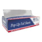 "Durable Packaging Pop-Up Foil Sheets, 12"" x 10 3/4"", 3000/Carton (DPK12105)"