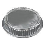 "Durable Packaging Round Dome Lids, 7"", Clear, 500/Carton (DPKP270500)"