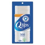 Q-tips Cotton Swabs, Antibacterial, 300/Pack, Each (UNI17900PK)